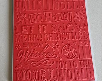 Christmas Blank Cards, Set of 10