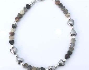 Jasper & Hematite Bracelet