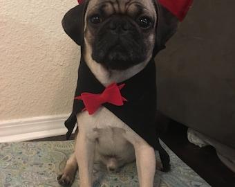 Dracula Vampire Dog Costume