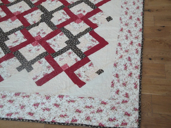 Items Similar To Lover S Knot Quilt Pattern By Eleanor