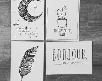 Living cards |  Interior cards |  Quotes | Living | Gift