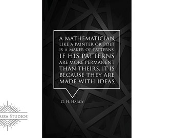 Mathematician, Printable Poster, Motivational, Education