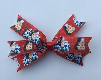 101 dalmations Cruella hair bow