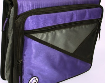 Purple Coupon Binder with Accessories