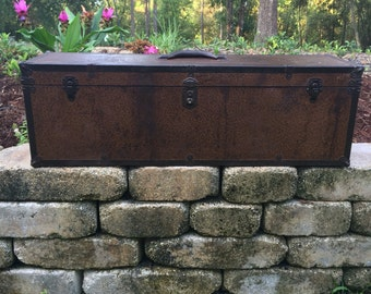 Vintage carpenters tool box hand made
