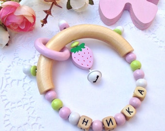 Personalized rattle