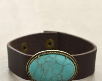 adorable turquoise cuff bracelet