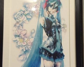 Hatsune Miku Original Picture Print Copy