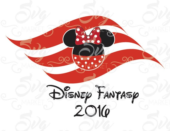 Disney Cruise Logo Cuttable Design File Svg Eps Jpg For