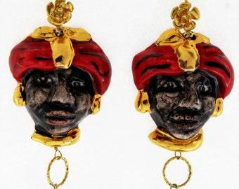 Mori Line Earrings