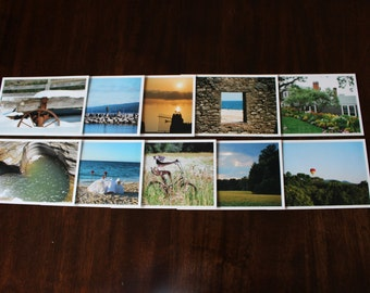 10 Assorted Photo Postcards