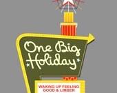 One Big Holiday / Holiday Inn My Morning Jacket Lot Style T-shirt