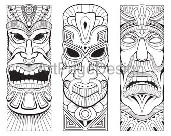 Print coloring mask Etsy