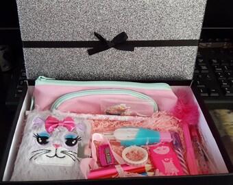 Cat Mini Lockable Journal Starter Kit