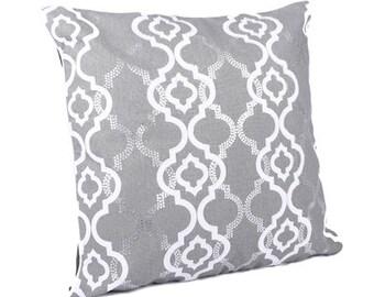 Grey Cushion x 2