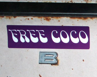 Free Coco Stickers For Sticking It To The Man