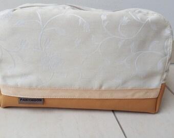 Vanity PANYMOON - beige rose - fed - 27 x 18 x 9cm