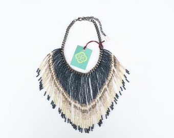 Maxi  fringes necklace