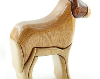 """DONKY 2 """" - Wood Flair - Wood Sculputure-ANIMALS"""