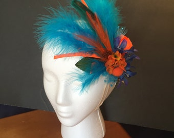 Colorful Handmade Hair Fascinator