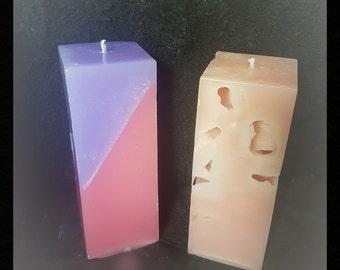 Ice Pillar candle