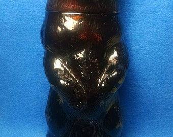Avon Vintage Kodiak Bear Collectible Bottle with Wild Country Aftershave.