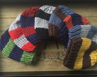 Boy hat, Striped boy hat, Newborn boy hat, Baby Boy Hat, Knit striped hat, infant boys hat,