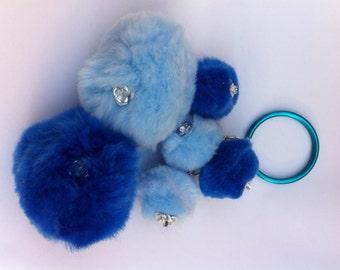 Blue Pompon