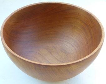 Turned Maple Bowl