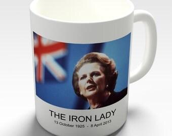 Margaret Thatcher Iron Lady Prime Ceramic Mug