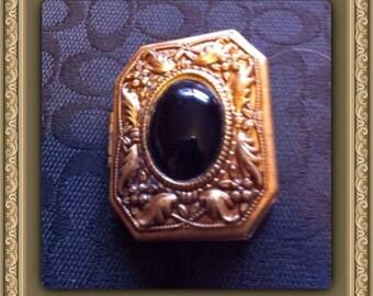 Vintage brass locket