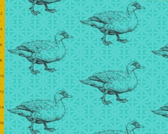 Mamaquirk Dilan duck turquoise jersey stretch knitted fabric