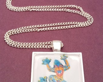 Frog Picture Necklace