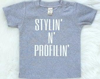 Stylin n profilin tshirt/boys shirts/funny shirt/