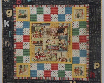 American Vintage- Finished Quilt- Wall Hanging