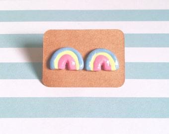 Cereal Rainbow Marshmallow Earrings!