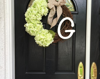 Custom Spring Wreath