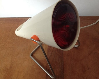 Spot Philips Infraphil created by Charlotte Perriand 1960 lamp infrared Vintage