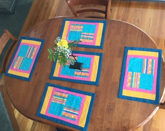 Placemats set of six