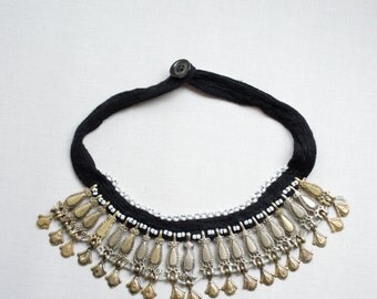 Vintage special choker necklace custom hand made vintage kuchi Kuchi