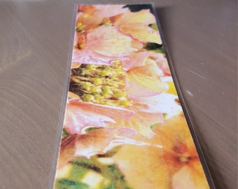Pink Flowers - Bookmark