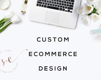 Custom eCommerce Design - Custom Responsive WordPress Online Store Design, Development + SEO
