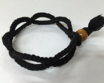 Handmade Thread Bracelet_Black
