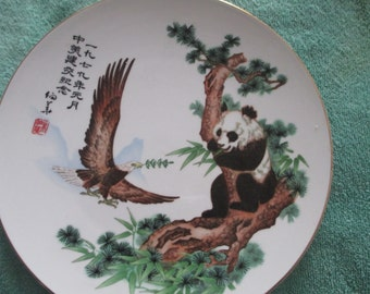 CHINESE/AMERICAN HISTORICAL series plate