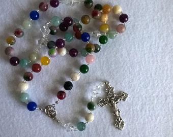 Catholic Rosary Multi color  (Item #201)