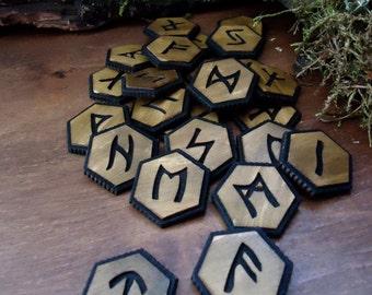 Elder Futhark, Runes