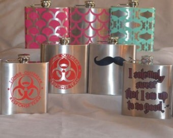Flask - Stainless Steel 6 oz.