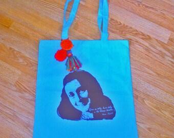 Bag Anne Frank