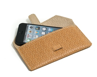 iPhone 5 Leather  Case, Wallet, Sleeve Fits iPhone 5 - iPhone SE