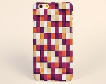 iPhone 7 Case Pixels geometric, iPhone 7 plus Case, iPhone 6 Plus Case, iPhone 6 Case, iPhone 6s Case, iPhone 5s Case, 3D iPhone Cases